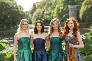 Celtic Woman, featuring Megan Walsh, left, Mairead Carlin, Eabha McMahon and Tara McNeil, will perform at The Bushnell Performing Arts Center in Hartford on April 3.
