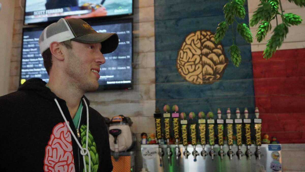 Ingenious Brewing Company's owner Justin Gyorfi.