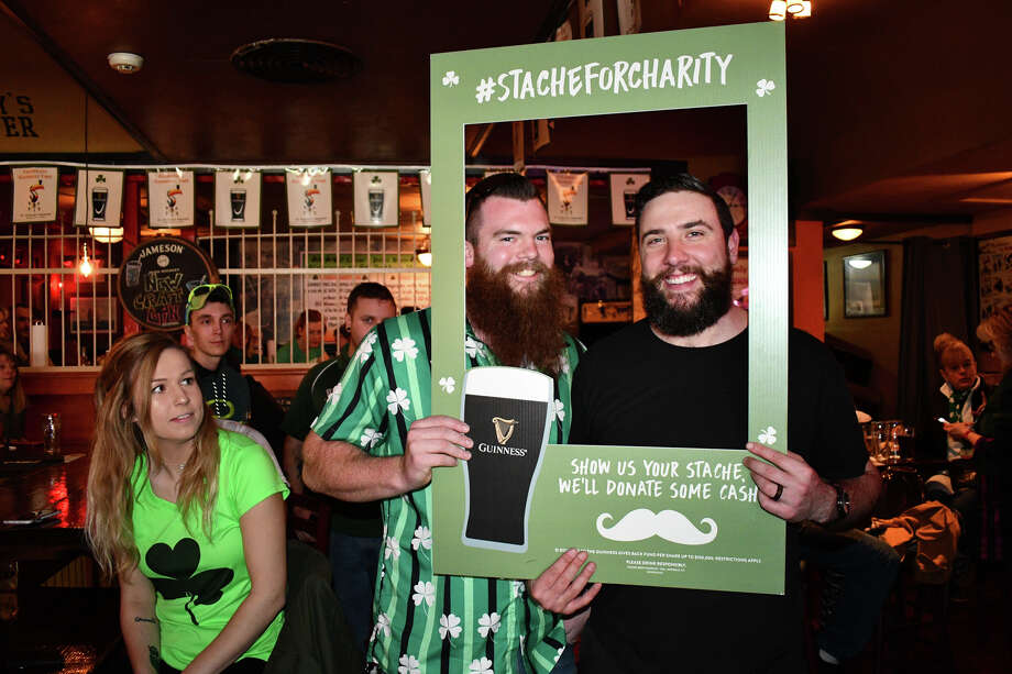 Merrymakers celebrated St. Patrick's Day weekend at O'Connor's Public House in Torrington, Conn, on Saturday, March 16, 2019. The bar hosted a Guinness glass event, Irish music and a DJ to close out the night. Were you SEEN? Photo: Lara Green- Kazlauskas/ Hearst Media