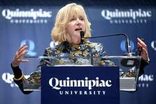 Judy D. Olian, dean of the UCLA Anderson School of Management, was appointed as the ninth president of Quinnipiac University in Hamden on January 29, 2018.