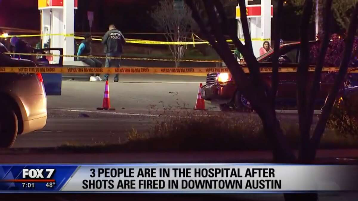 Austin police are investigating a shooting that left three injured Sunday morning, March 17, 2019.