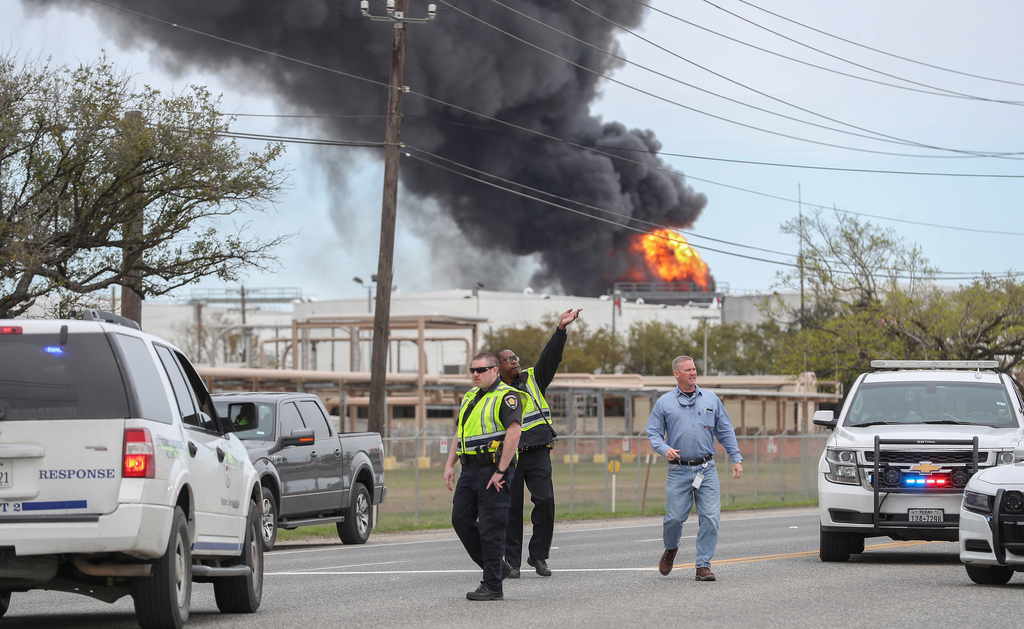 15 chemical plant fires and explosions that have shaken the Houston area