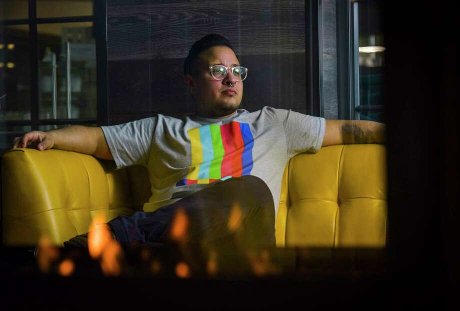 Jamison Crowell, the executive director of the DC Area Trans-Masculine Society, is shown Friday, March 15, 2019, in Washington. Photo: Washington Post Photo By Jahi Chikwendiu. / The Washington Post