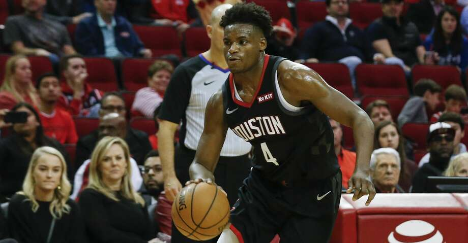 PHOTOS: Rockets game-by-game Houston Rockets forward Danuel House Jr. (4) dribbles toward the basket during the fourth quarter of the NBA game against the Cleveland Cavaliers at Toyota Center on Friday, Jan. 11, 2019, in Houston. The Houston Rockets defeated the Cleveland Cavaliers 141-113. Browse through the photos to see how the Rockets have fared in each game this season. Photo: Yi-Chin Lee/Staff Photographer