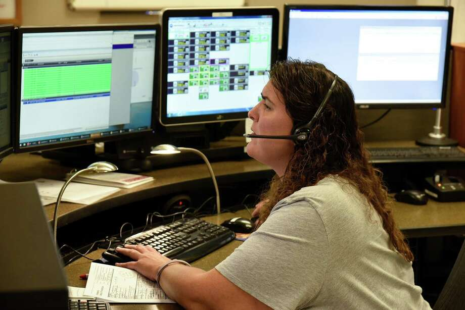 A user looks at Tyler's New World computer-aided dispatch (CAD) interface. Liberty County could have the same software at their fingertips in the next year if commissioners vote to make the purchase. Photo: Submitted
