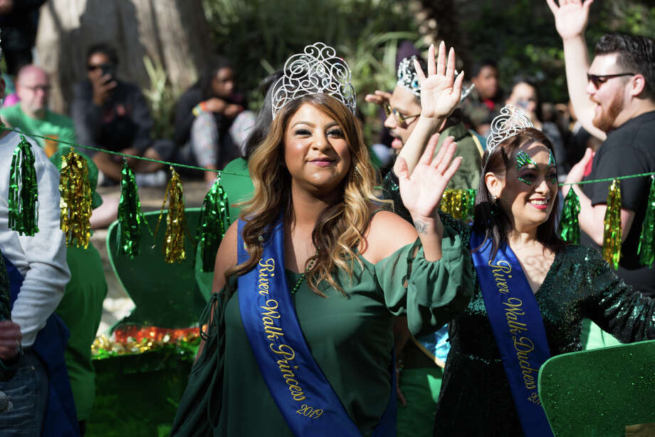 San Antonio got 'green' as the city held it's ST. Patrick's Day Festival and Parade. Photo: B Kay Richter