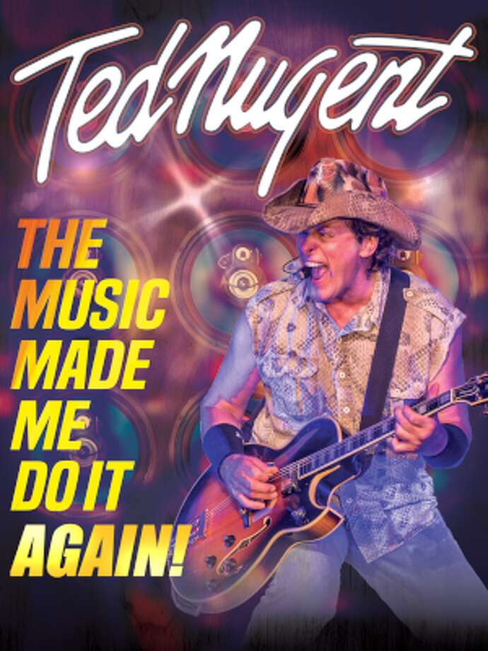 """Ted Nugent brings """"The Music Made Me Do It Again! Tour"""" to DTE Energy Music Theatre in August. Photo: Https://www.tednugent.com"""