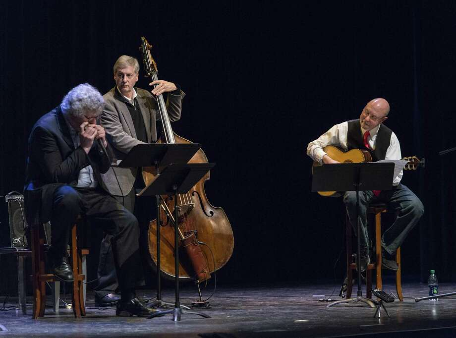 The Jobimfest Trio will perform April 16 at 7 p.m. at the Edgerton Center for the Performing Arts at SHU. Photo: Contributed Photo / ©Mark F Conrad
