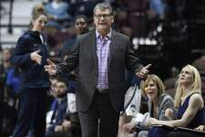UConn coach Geno Auriemma is unhappy with how St. Joseph handled the firing of his close friend Phil Martelli.