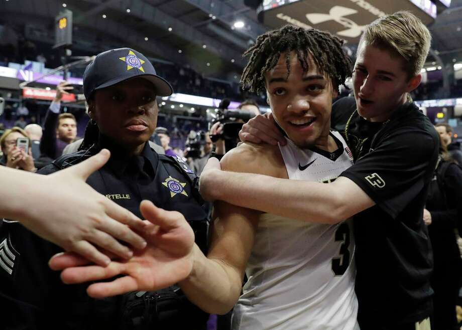 PHOTOS: Former Houston high school stars who will play in this year's NCAA Tournament Carsen Edwards led Atascocita High School to the state championship game in 2016, and now he has Purdue as a No. 3 seed in this year's NCAA Tournament. Browse through the photos above for a look at all the former Houston area high school stars in this year's NCAA Tournament ... Photo: Nam Y. Huh, Associated Press / Copyright 2019 The Associated Press. All rights reserved.