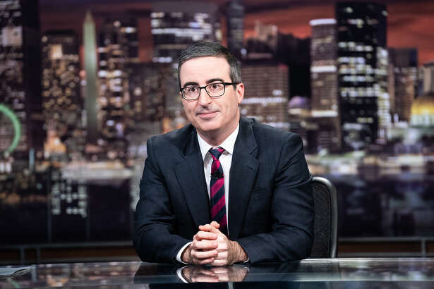 "John Oliver on HBO's ""Last Week Tonight."""