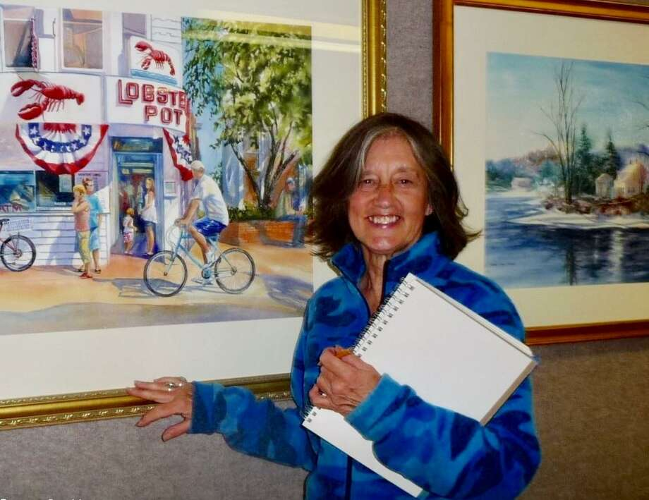 The next meeting of the East Hampton Art Association will be held March 27, 7 p.m. at the East Hampton Community Center at 105 Main Street. The guest artist, Susan Pecora from Massachusetts, will be presenting a watercolor demonstration. Photo: Contributed Photo