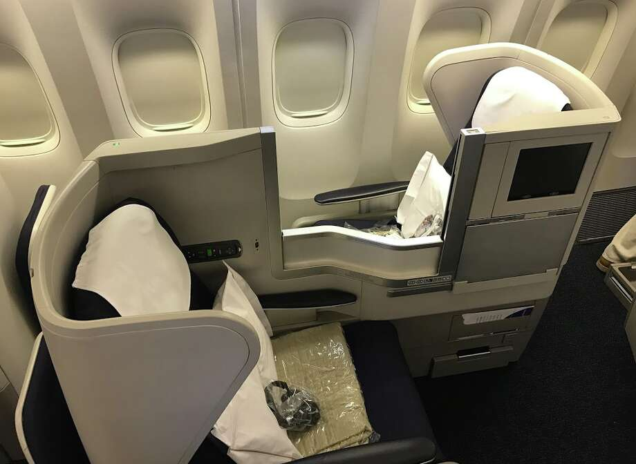 British Airways unique, and kinda awkward, front and rear facing business class seat will soon disappear, replaced by Club Suites Photo: Chris McGinnis