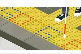 Monday's Google doodle recognized tenji blocks, which help those with visual impairments navigate busy streets and public areas. They were first installed in Okayama on March 18, 1967.