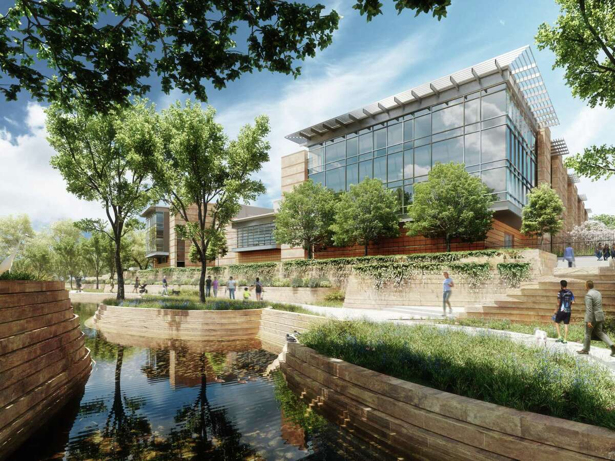 The new federal courthouse, which will be built at the corner of Nueva and Santa Rosa streets, will feature eight courtrooms and 13 judges' chambers. It also will house federal public defender and Justice Department offices and provide an office for a judge from San Antonio who serves on the 5th U.S. Circuit Court of Appeals, according to information provided by the U.S. General Services Administration and Congressman Henry Cuellar, D-Laredo. It is replacing the John H. Wood U.S. Courthouse. a midcentury landmark that originally was the Confluence Theatre for HemisFair '68.