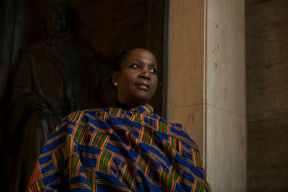Lisa Cook, a Michigan State University economist, said black women have long felt that their ideas were being downgraded compared with those from white men. Photo: Brittany Greeson / New York Times
