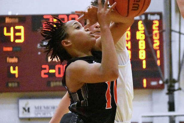 Edwardsville senior Jaylen Townsend was an All-SWC first-team selection for girls' basketball.