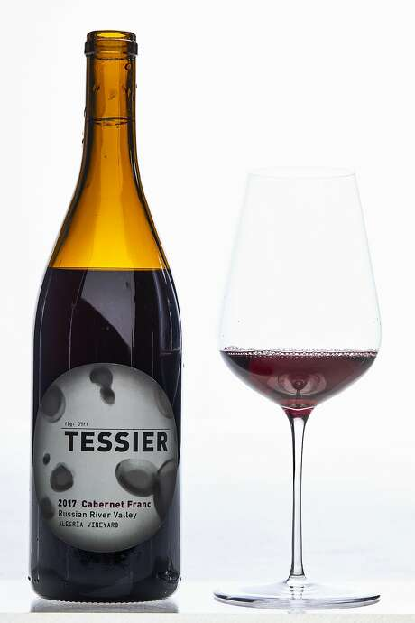 Tessier Cabernet Franc Alegria Vineyard Russian River Valley 2017 ($38, 12.4%) Photo: Russell Yip / The Chronicle