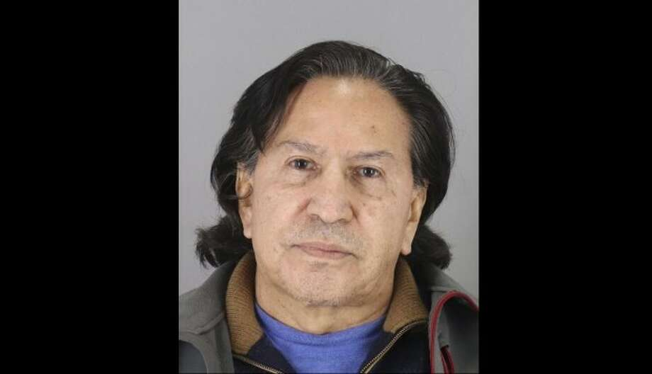 Authorities say former Peruvian president Alejandro Toledo was arrested on March 17, 2019 in Menlo Park on charges of public intoxication. Photo: San Mateo County Sheriff's Office