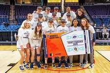 The Quinnipiac women's basketball team will face South Dakota St. in the first round of the NCAA tournament on Saturday.