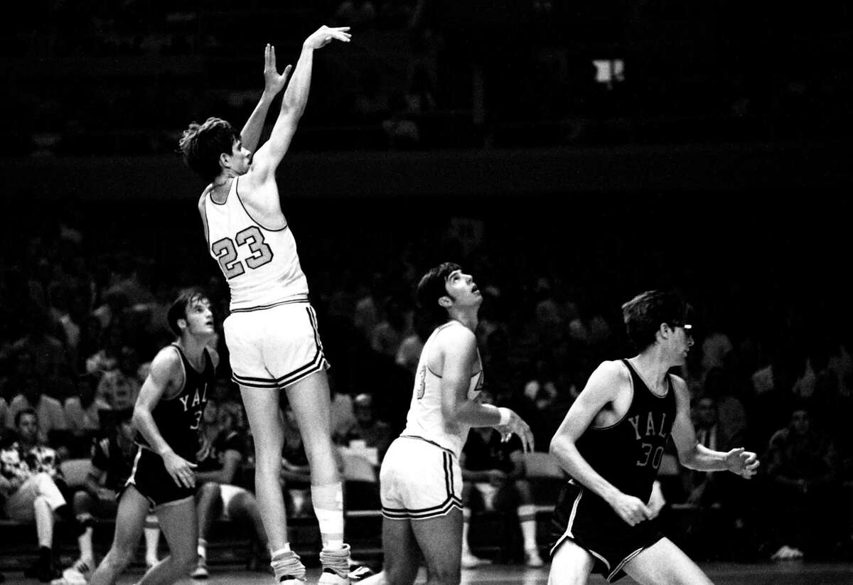 LSU's Pete Maravich shoots against Yale during the 1969 Rainbow Classic Tournament on Dec. 30, 1969 in Honolulu, Hawaii.
