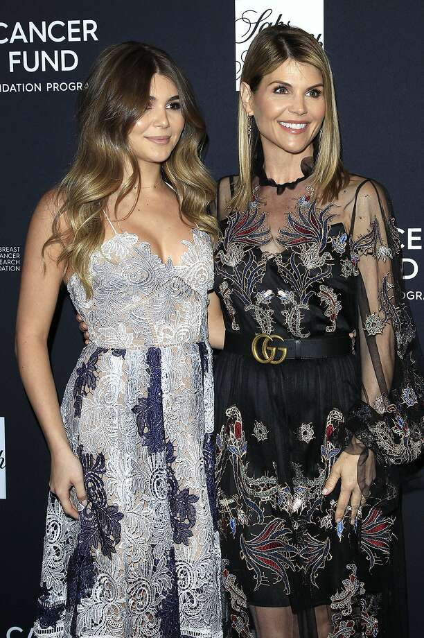"Lori Loughlin, right, with daughter Olivia Jade Giannulli at the ""Women's Cancer Research Fund's Unforgettable Evening"" charity gala on Feb. 27, 2018 at the Beverly Wilshire Four Seasons Hotel in Beverly Hills, Calif. (Dave Bedrosian/Future-Image/Zuma Press/TNS) Photo: Dave Bedrosian/Future-Image, TNS"