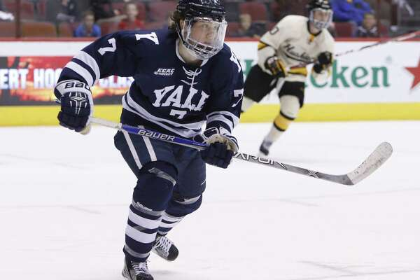 Yale's Joe Snively has signed a two-year entry-level contract with the Washington Capitals.