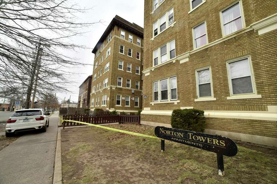 Norton Towers Apartments, at 66 Norton St. in New Haven. The building was condemned and evacuated by LCI in February 2018. Photo: Peter Hvizdak / Hearst Connecticut Media File Photo / New Haven Register