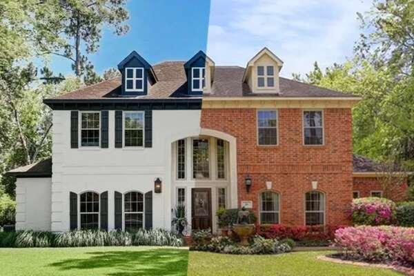 This Houston home was built in 1989, and it showed. It got a total makeover and in 2018 sold for $300,000 more than what the owners paid in 2015.
