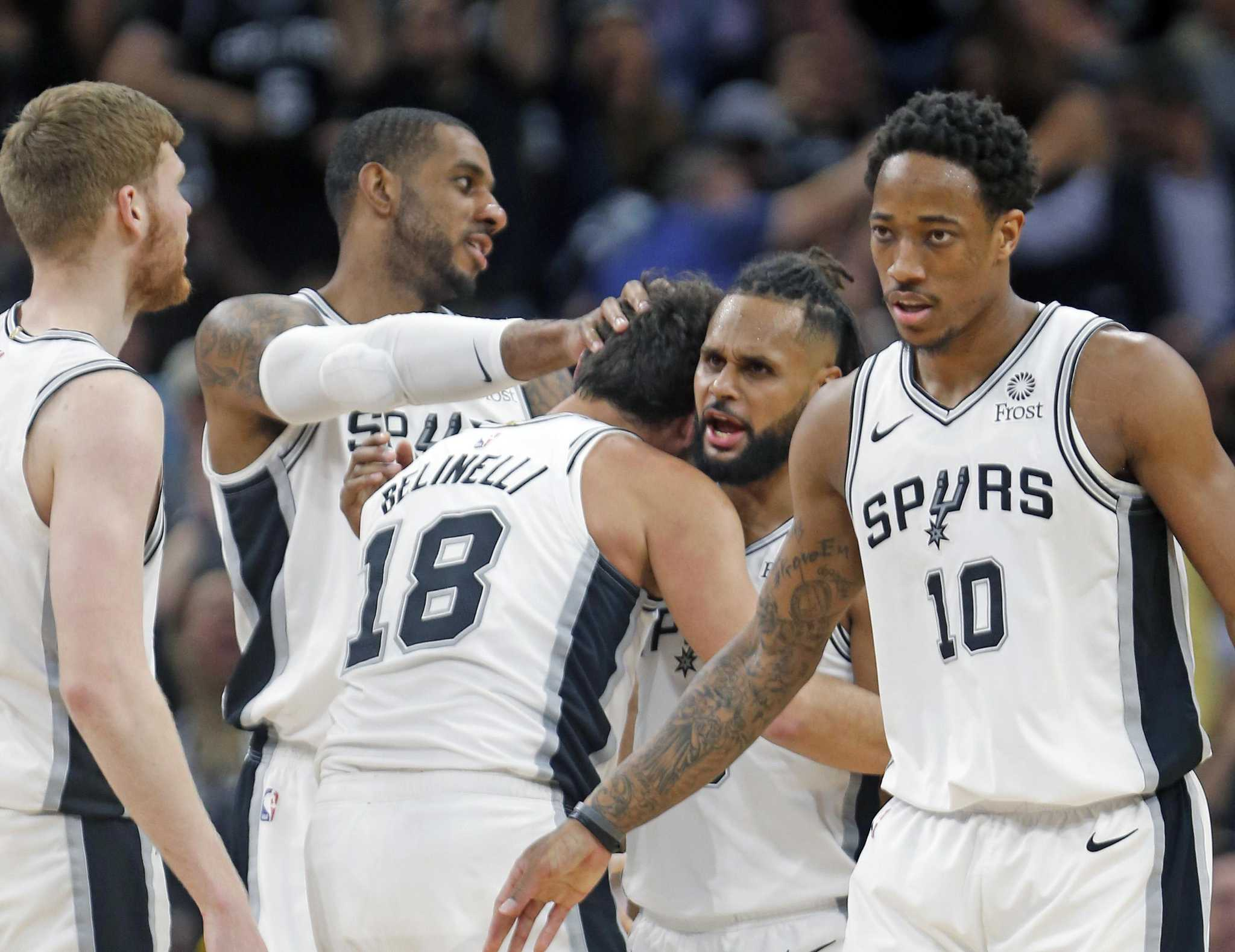 After felling Warriors, Spurs' mission is to avoid them in playoffs