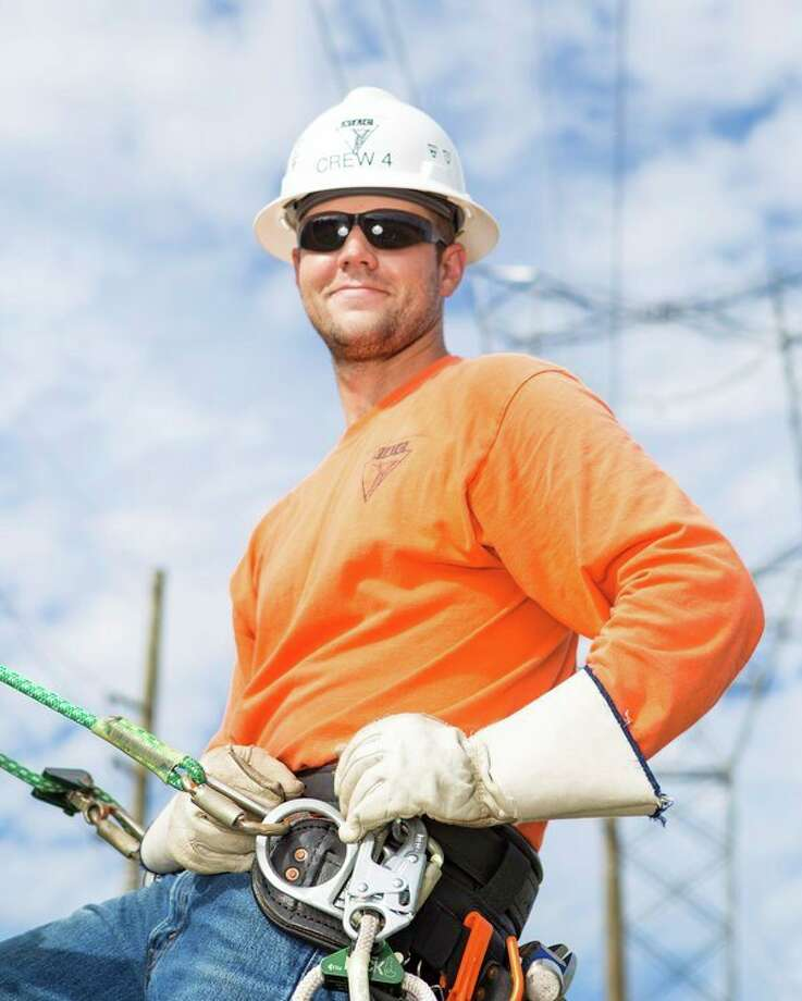 Adam Wendling recently completed lineman training. (Submitted Photo)