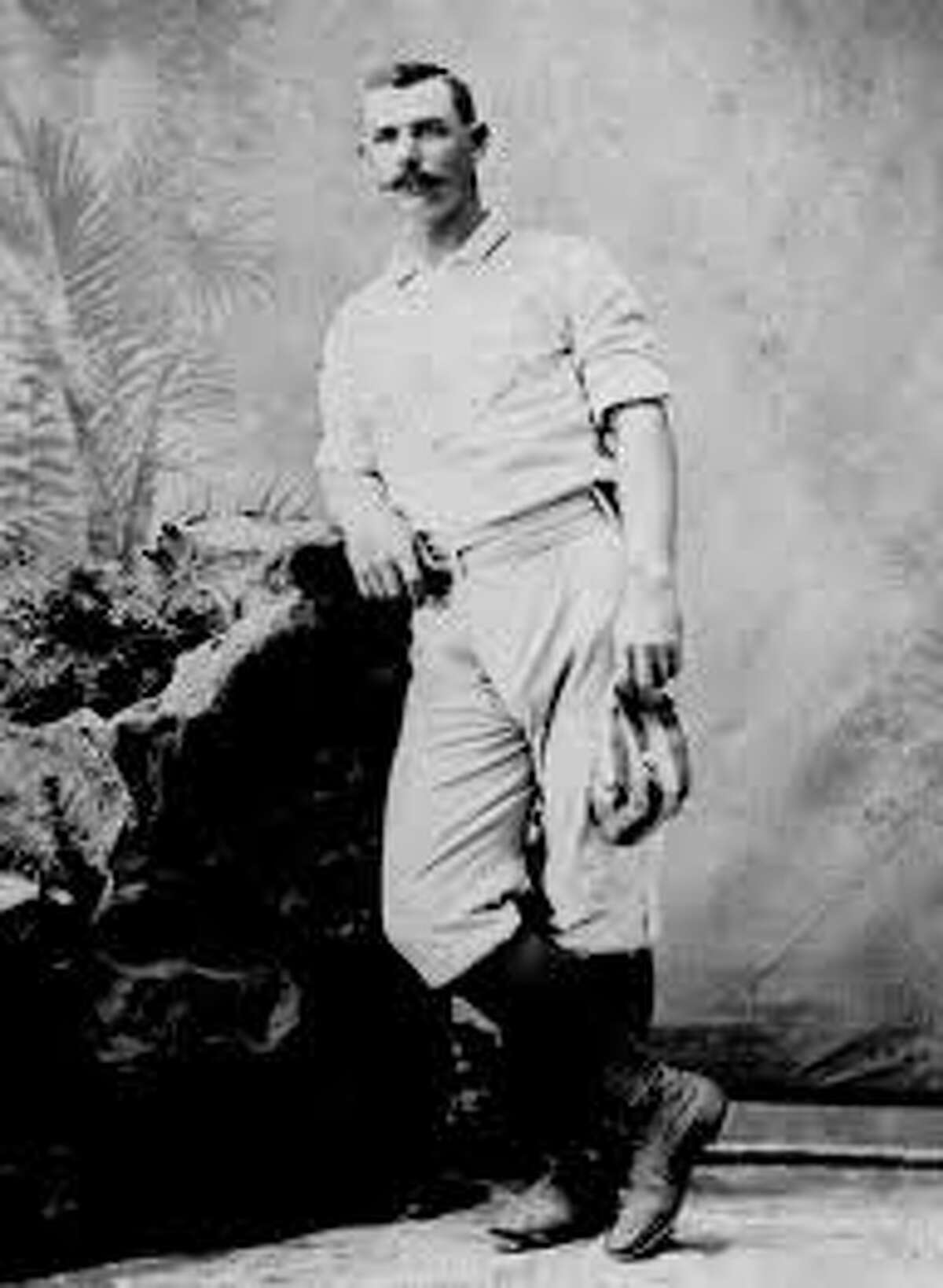 Roger Connor (National Baseball Hall of Fame Library, Cooperstown, NY)