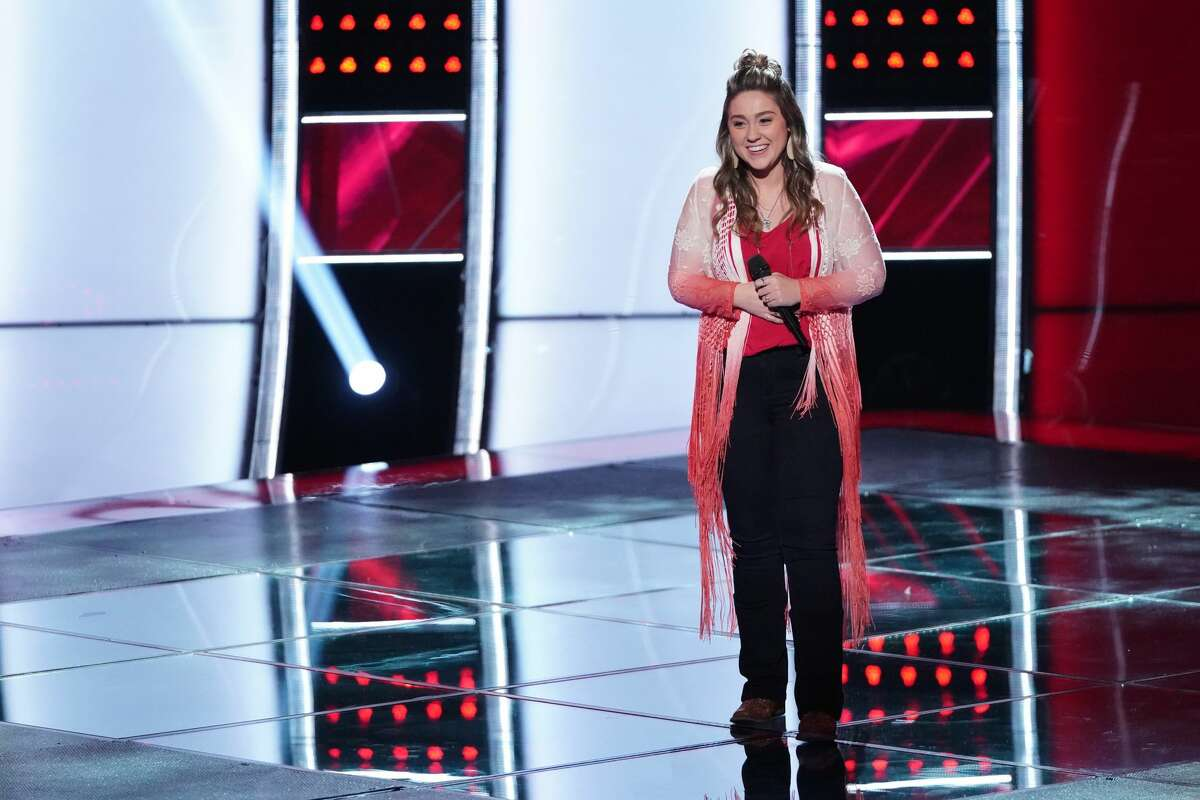 Hannah Kay, 18, of Magnolia has secured a spot on Team Blake on The Voice.