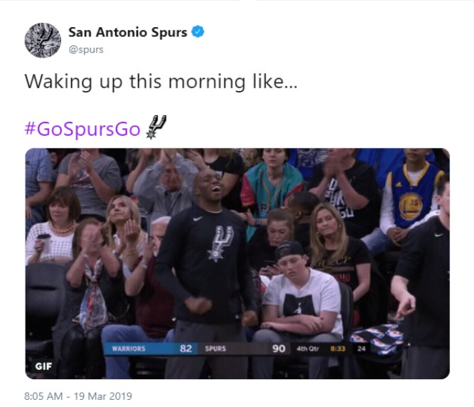 San Antonio Spurs fans erupt on Twitter after 9th straight win