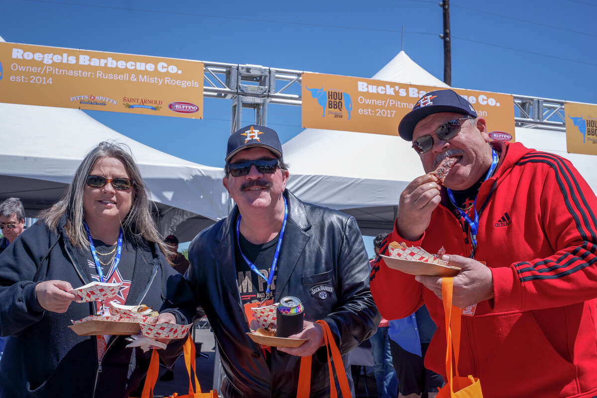 The 7th annual Houston Barbecue Festival will be held on April 14 at the Humble Civic Center Arena Complex in Humble. Shown: Scene from the 2018 festival.
