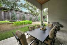 A look at the backyard of the San Antonio home at 3023 Elm Creek Pl. Learn more about the property atwww.har.com