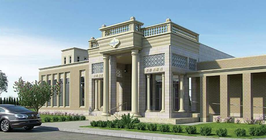 The Atash Kadeh Temple at 8787 W. Airport Blvd. will be the first in the U.S. to perform a full range of traditional Zoroastrian practices. Photo: Atash Kadeh