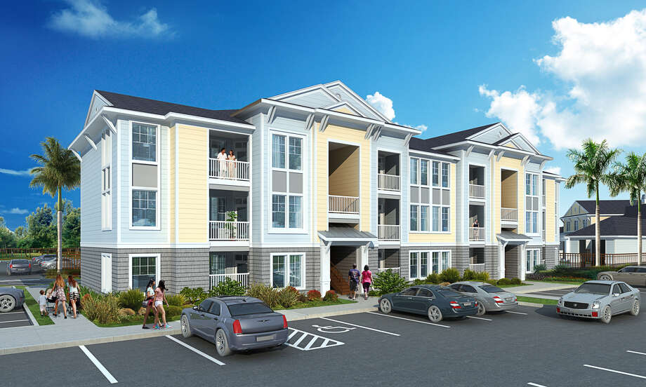 Cypressbrook Development Co. announced the ground breaking of Ariza Corpus Christi, a 286-unit, 238,000-square-foot apartment complex in Corpus Christi. Photo: Cypressbrook Co.