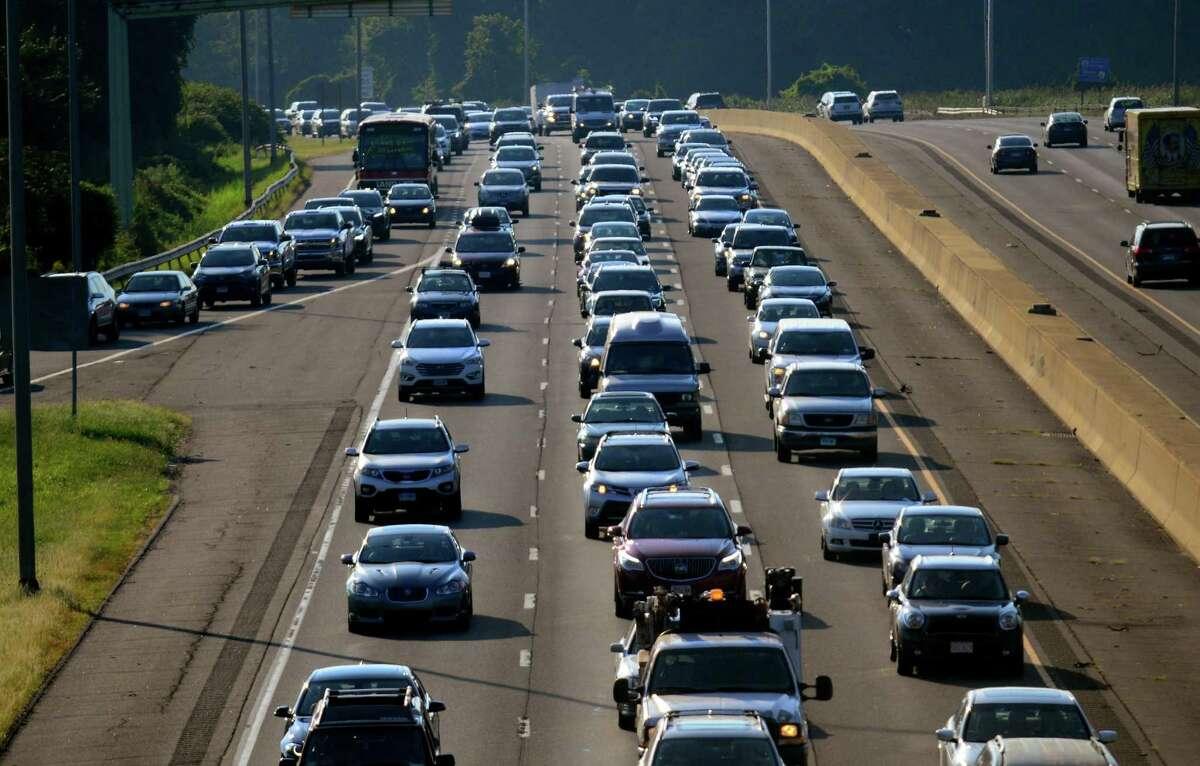 Torrington to Bridgeport (no tolls proposed) Miles: 49 Price per trip, peak hour (with CT E-ZPass & frequent user discount): $0 Price per trip, off-peak hour (with CT E-ZPass & frequent user discount): $0 Source: Lamont Administration