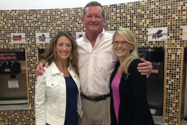 With the support of his daughters Elaine Griffin, left, and Laura Day, Ronnie Pace is cancer-free today following two rounds with male breast cancer that started in 2013. Now a member of the board of directors at The Rose, Pace works to educate people about the relatively unknown cancer that affects men.