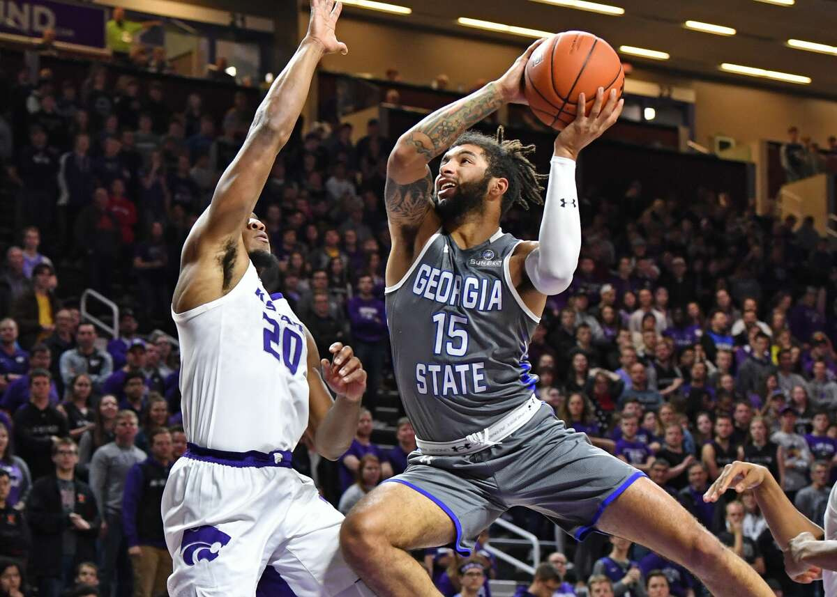 PHOTOS:Former Houston high school stars in the 2019 NCAA Tournament The Panthers have five players scoring in double figures, including D'Marcus Simonds, pictured, (18.4), Devin Mitchell (12.2), Malik Benlevi (12.1), Jeff Thomas (11.7) and Kane Williams (11.3). (Photo by Peter G. Aiken/Getty Images) >>>Browse through the slideshow for a look at former Houston high school basketball stars who will be playing in the 2019 NCAA Tournament ...