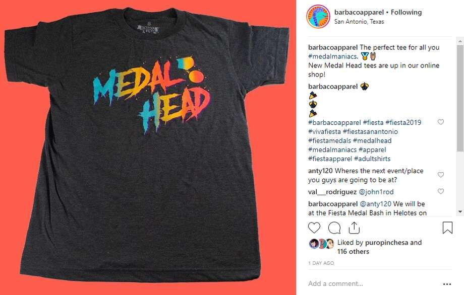 Medal Head T-Shirt by BarbacoApparel Photo: Instagram Screengrab