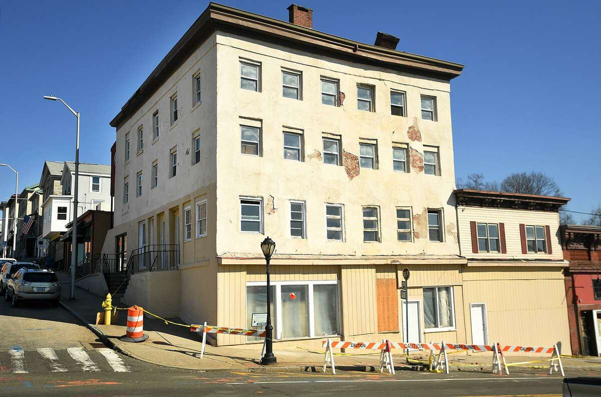 195 Main Street in Derby, Conn. is being considered for demolition according to city officials on Tuesday, March 19, 2019.
