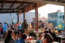 Golondrina Food Park in north Laredo will celebrate its grand opening on Thursday.