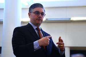 Norwalk Public Schools Chief of School Operations Frank Costanzo, in Norwalk, Conn.