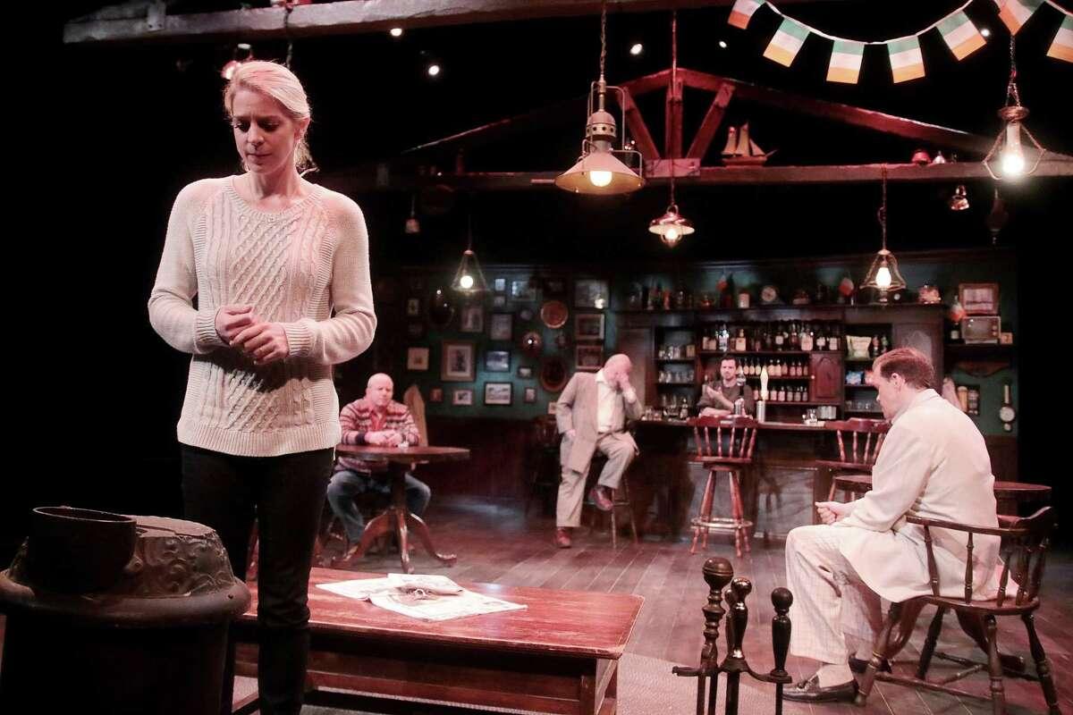 "Heidi Hinkel in ""The Weir,"" Main Street Theater, 2019"