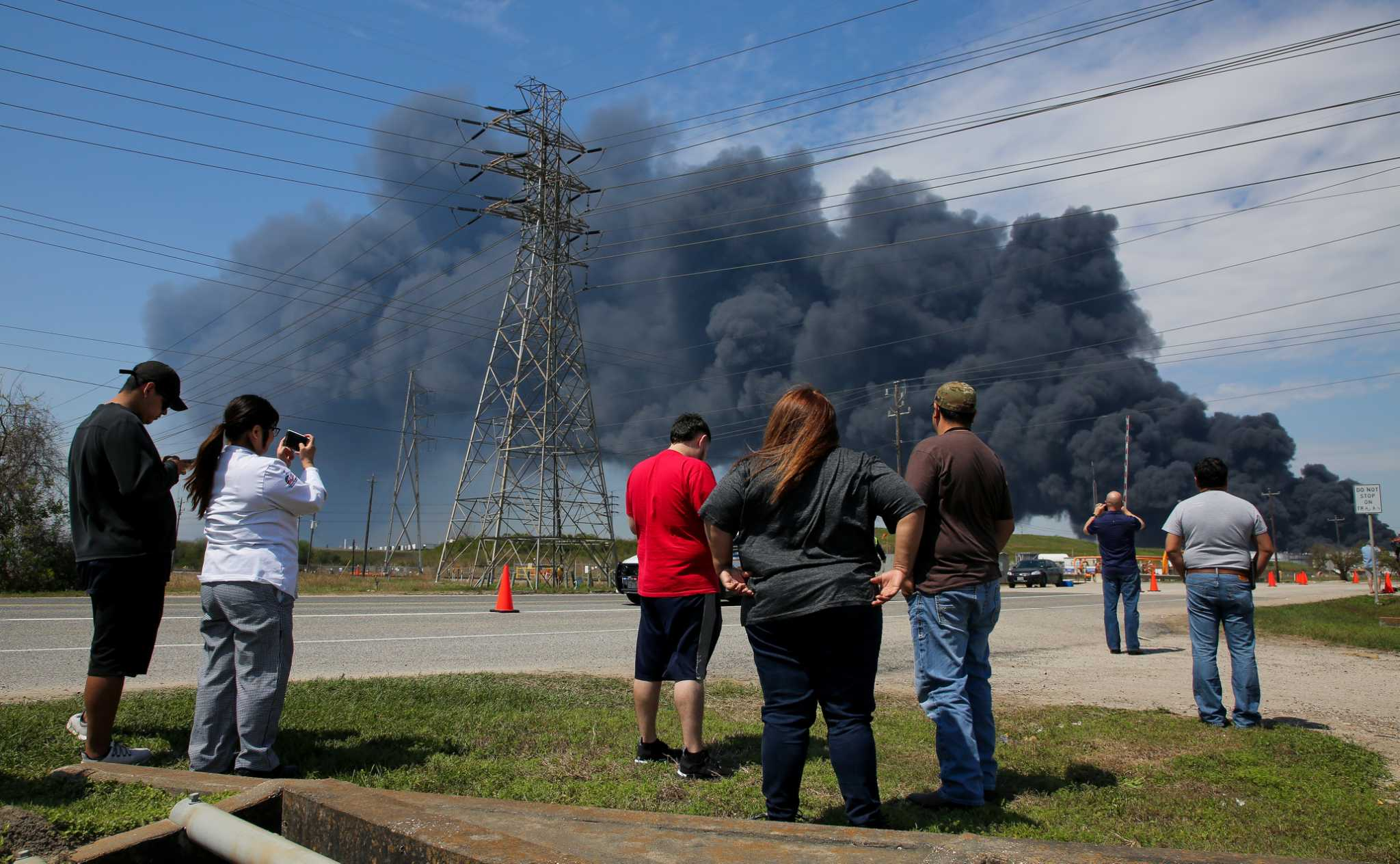 Deer Park chemical fire extinguished overnight, ITC says