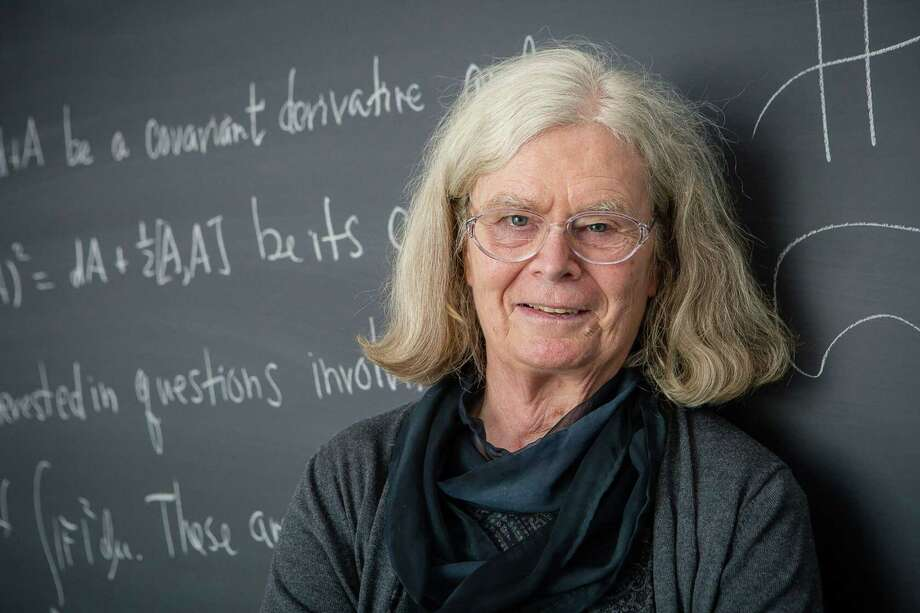 Karen Uhlenbeck, a professor emeritus at the University of Texas at Austin, will be awarded the prestigious Norwegian Abel Prize for mathematics. Photo: ANDREA KANE, Contributor / AFP/Getty Images / AFP