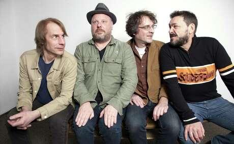 Rock band Mudhoney is, from left, Mark Arm, Dan Peters, Steve Turner, Guy Maddison