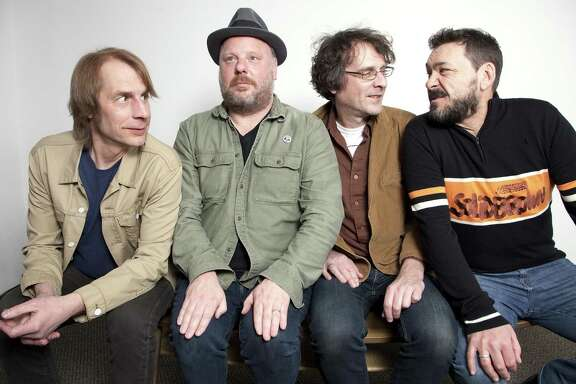 Rock band Mudhoney is, from left, Mark Arm, Dan Peters, Steve Turner, Guy Maddison